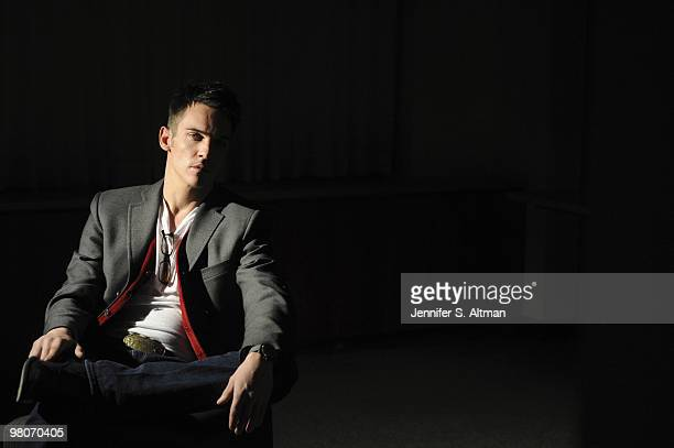 Actor Jonathan Rhys Meyers is photographed in New York for the Los Angeles Times