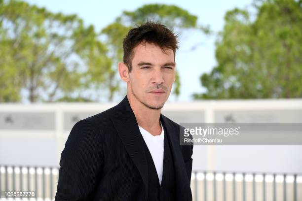 Actor Jonathan RhysMeyers attends 'The Aspern' photocall during the 75th Venice Film Festival at Sala Casino on August 30 2018 in Venice Italy