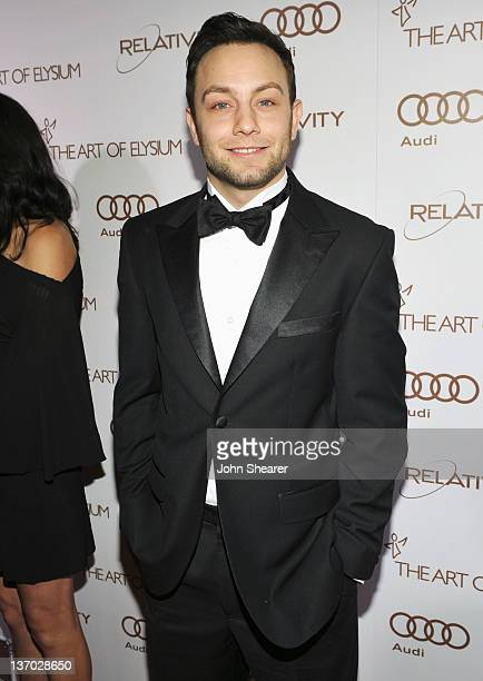 Actor Jonathan Sadowski arrives at Audi presents The Art of Elysium's 5th annual HEAVEN at Union Station on January 14, 2012 in Los Angeles,...