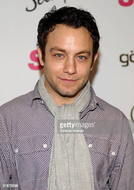 Actor Jonathan Sadowski arrives at Star Magazine's 5th anniversary celebration at Bardot on October 13 2009 in Hollywood California