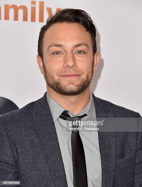 Actor Jonathan Sadowski attends Disney ABC Television Group's 2015 TCA Summer Press Tour at the Beverly Hilton Hotel on August 4 2015 in Beverly...