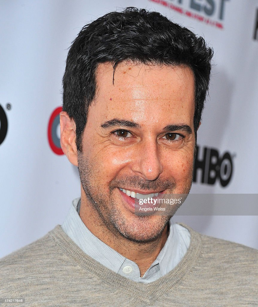 Actor Jonathan Silverman arrives at the 2013 Outfest Film Festival closing night gala of 'G.B.F.' at the Ford Theatre on July 21, 2013 in Hollywood, California.