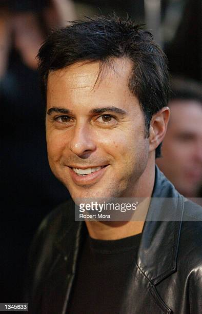 "Actor Jonathan Silverman attends the premiere of ""Serving Sara"" at the Samuel Goldwyn Theater on August 20, 2002 in Beverly Hills, California. The..."