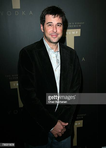 Actor Jonathan Silverman attends Trump Vodka launch party at Les Deux on January 17, 2007 in Los Angeles, California.