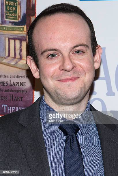 Actor Jonathan Spivey attends the opening night party for Act One at The Plaza Hotel on April 17 2014 in New York City