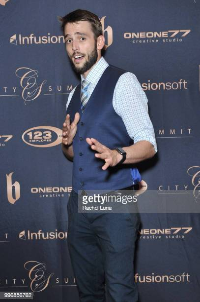 Actor Jonathan Sterritt attends City Summit Wealth Mastery And Mindset Edition afterparty at Allure Banquet Catering on July 11 2018 in Van Nuys...
