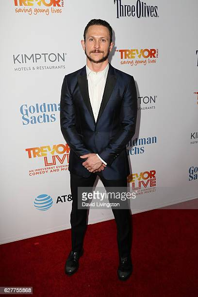 Actor Jonathan Tucker arrives at the TrevorLIVE Los Angeles 2016 Fundraiser at The Beverly Hilton Hotel on December 4 2016 in Beverly Hills California