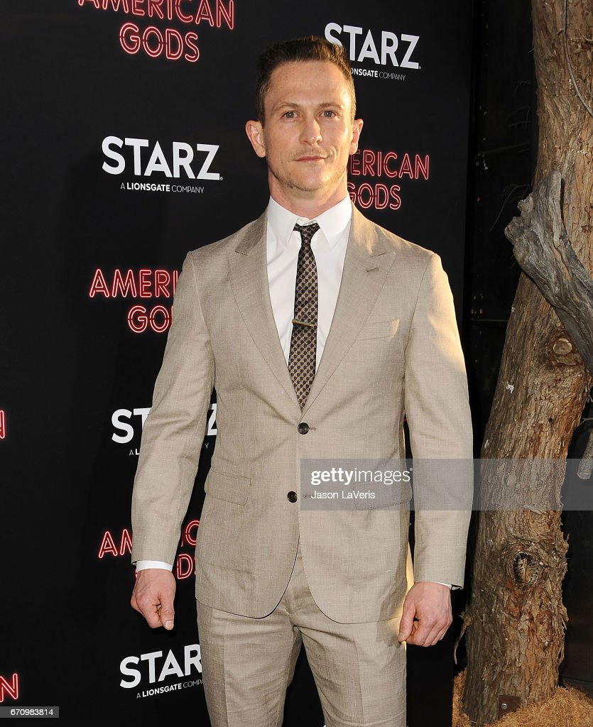 Actor Jonathan Tucker attends the premiere of 'American Gods' at ArcLight Cinemas Cinerama Dome on April 20, 2017 in Hollywood, California.