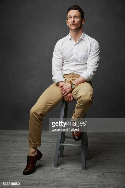 Actor Jonathan Tucker of 'Kingdom' is photographed for Entertainment Weekly Magazine on June 10 2017 in Austin Texas