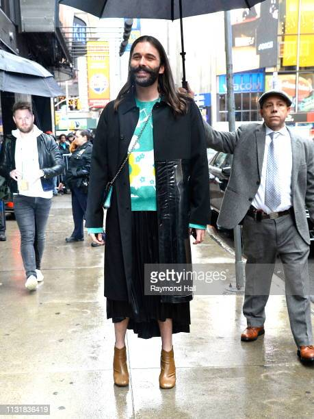 Actor Jonathan Van Ness is seen outside Good Morning America on March 21 2019 in New York City