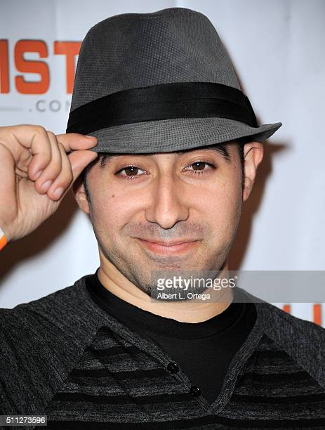 Actor Jonathan Vega arrives for the InfoList PreOscar Soiree And Birthday Party for Jeff Gund held at OHM Nightclub on February 18 2016 in Hollywood...