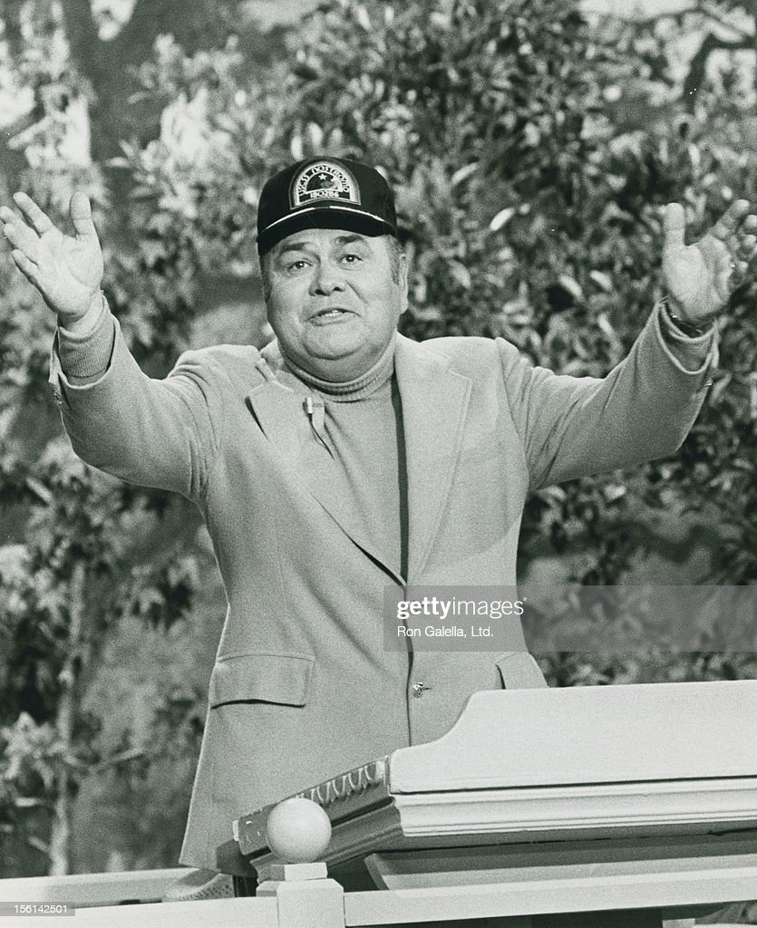 Actor Jonathan Winters attends the taping of 'Bob Hope Special-Bob Hop in Who Makes The World' on April 10, 1983 at NBC Studios in Burbank, California.