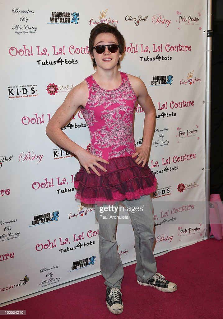 Actor Jonathon McClendon attends the 4th Annual Tutus4Tots charity event on February 2, 2013 in Chino, California.