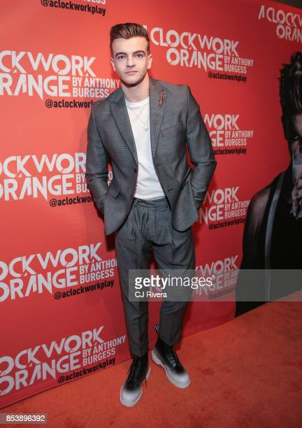 Actor Jonno Davies attends the OffBroadway opening night of 'A Clockwork Orange' at New World Stages on September 25 2017 in New York City