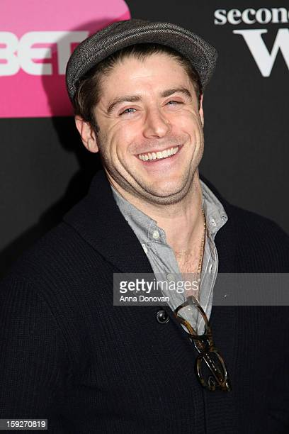 Actor Jonny Abrahams arrives at the screenings of BET Networks' 'Real Husbands of Hollywood' and 'Second Generation Wayans' held at the Regal Cinemas...
