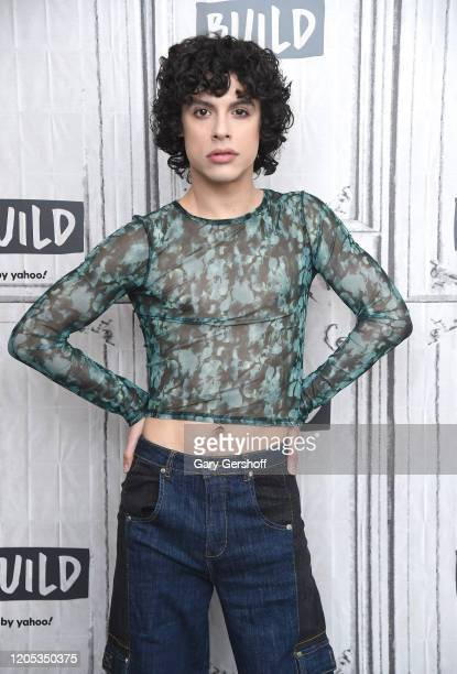 """Actor Jonny Beauchamp visits the Build Series to discuss the CW's network comedydrama series """"Katy Keene"""" at Build Studio on February 10 2020 in New..."""