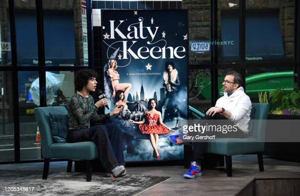 """Actor Jonny Beauchamp visits the Build Series with host Matt Forte to discuss the CW's network comedydrama series """"Katy Keene"""" at Build Studio on..."""