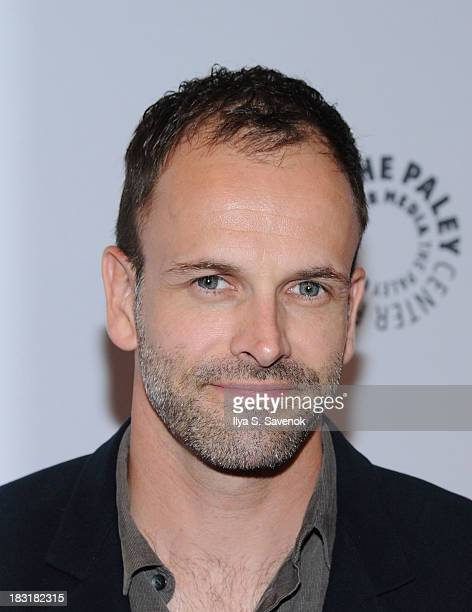 Actor Jonny Lee Miller attends the Elementary panel during 2013 PaleyFest Made In New York at The Paley Center for Media on October 5 2013 in New...
