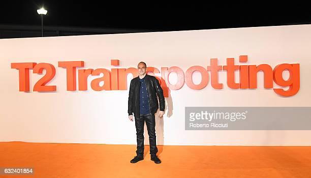 Actor Jonny Lee Miller attends the World Premiere of T2 Trainspotting at Cineworld on January 22, 2017 in Edinburgh, United Kingdom.