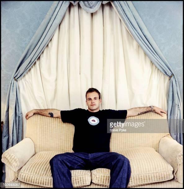 Actor Jonny Lee Miller poses for a portrait shoot in London UK