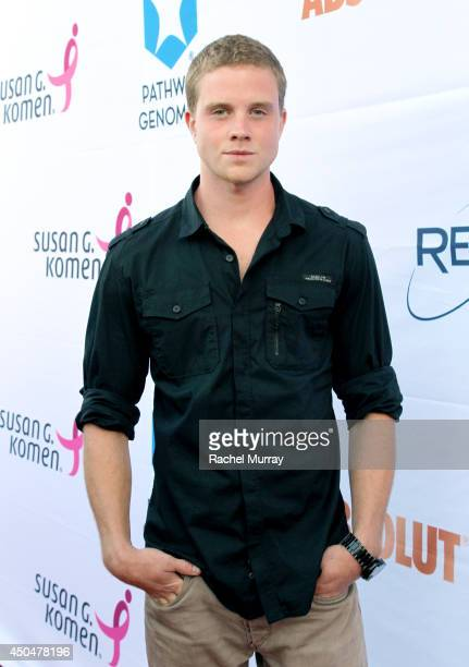 Actor Jonny Weston attends PATHWAY TO THE CURE A fundraiser benefiting Susan G Komen presented by Pathway Genomics Relativity Media and evian Natural...