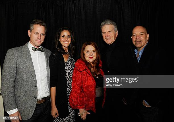 Actor Jono Roberts actor Georgia Haches writer Susan Bernard actor Don Murray and actor Jason Stuart attend the 23rd Annual Palm Springs...