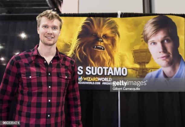 Actor Joonas Suotamo attends the 2018 Wizard World Comic Con at Pennsylvania Convention Center on May 19 2018 in Philadelphia Pennsylvania