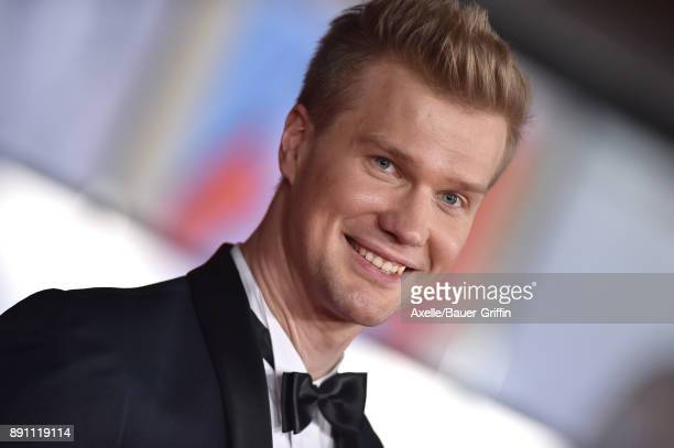 Actor Joonas Suotamo attends the Los Angeles premiere of 'Star Wars: The Last Jedi' at The Shrine Auditorium on December 9, 2017 in Los Angeles,...
