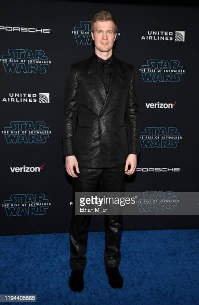 "Actor Joonas Suotamo attends the premiere of Disney's ""Star Wars: The Rise of Skywalker"" on December 16, 2019 in Hollywood, California."