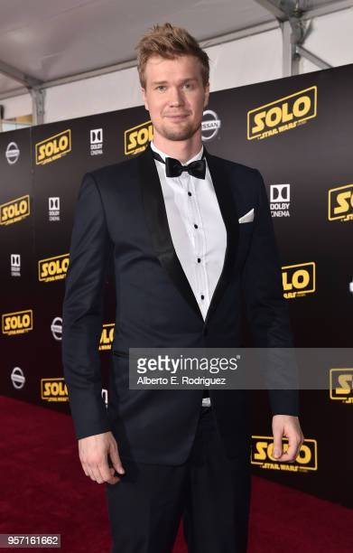 """Actor Joonas Suotamo attends the world premiere of """"Solo: A Star Wars Story"""" in Hollywood on May 10, 2018."""