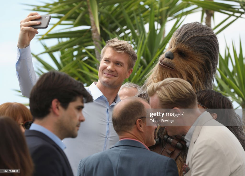 """Solo:  A Star Wars Story"" Photocall - The 71st Annual Cannes Film Festival : News Photo"