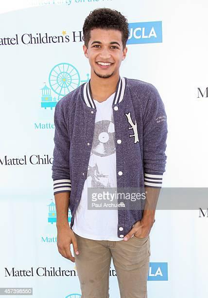 Actor Jordan Fisher attends Mattel's 5th annual Party On The Pier at Santa Monica Pier on October 5 2014 in Santa Monica California