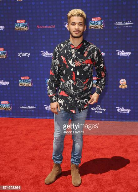 Actor Jordan Fisher attends the 2017 Radio Disney Music Awards at Microsoft Theater on April 29 2017 in Los Angeles California