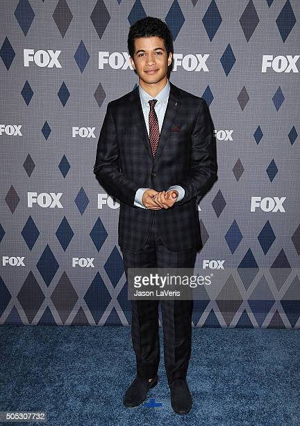 Actor Jordan Fisher attends the FOX winter TCA 2016 AllStar party at The Langham Huntington Hotel and Spa on January 15 2016 in Pasadena California