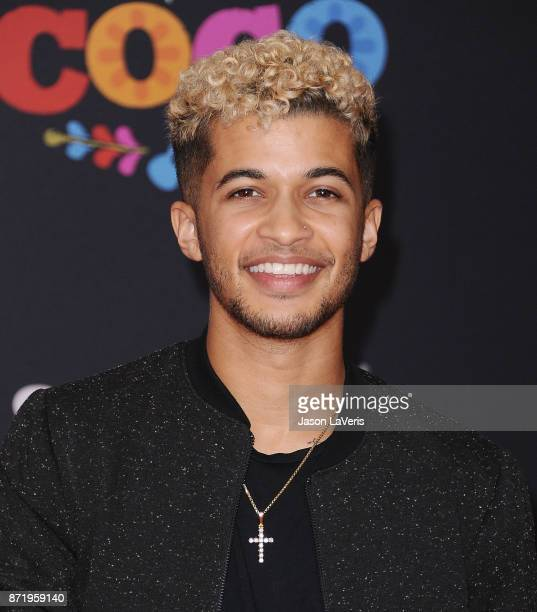 Actor Jordan Fisher attends the premiere of Coco at El Capitan Theatre on November 8 2017 in Los Angeles California