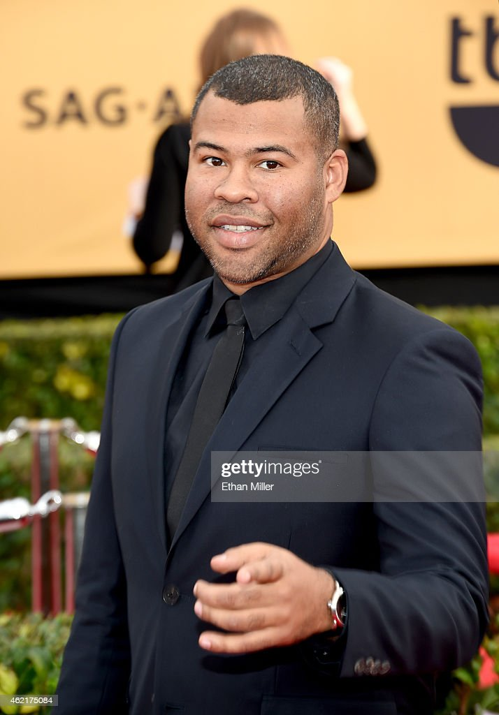 Actor Jordan Peele attends the 21st Annual Screen Actors Guild Awards at The Shrine Auditorium on January 25, 2015 in Los Angeles, California.