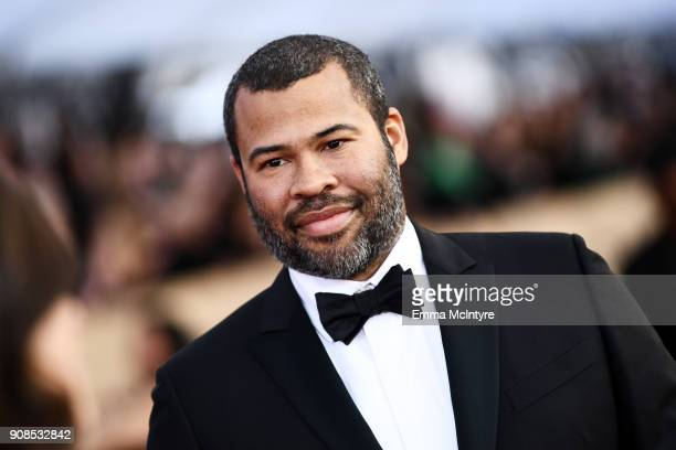 Actor Jordan Peele attends the 24th Annual Screen Actors Guild Awards at The Shrine Auditorium on January 21 2018 in Los Angeles California 27522_011