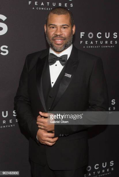 Actor Jordan Peele attends the Focus Features Golden Globe Awards After Party on January 7 2018 in Beverly Hills California