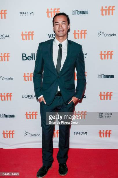 Actor Jordan Rodrigues attends the 'Lady Bird' premiere during the 2017 Toronto International Film Festival at Ryerson Theatre on September 8 2017 in...