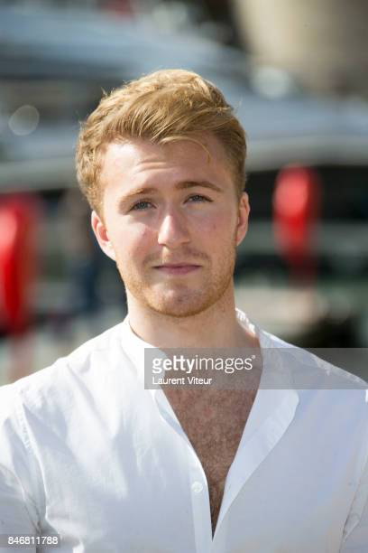 Actor Jordan Waller attends 'Victoria' Photocall during 19th Festival Of TV Fiction on September 14 2017 in La Rochelle France