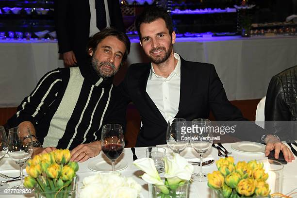 Actor Jordi Mola and producer Andrea Iervolino of AMBI Group attends Grand Gala in Rome for Puerto Azul Resort and Andrea Iervolino's Birthday on...