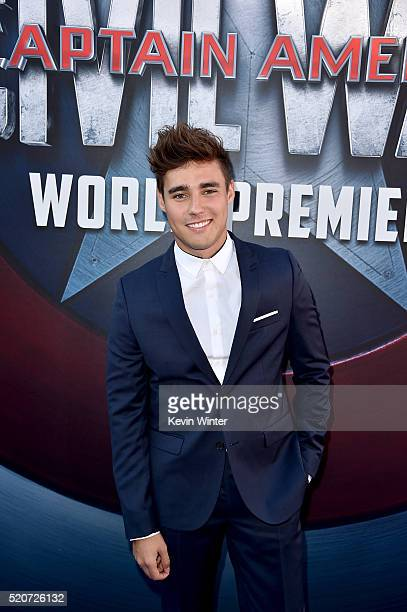 Actor Jorge Blanco attends the premiere of Marvel's 'Captain America Civil War' at Dolby Theatre on April 12 2016 in Los Angeles California