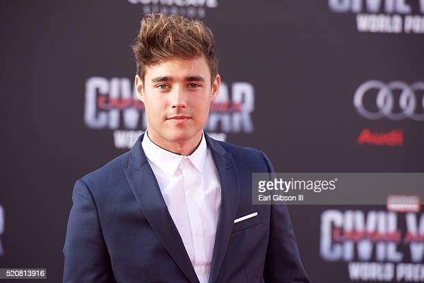 Actor Jorge Blanco attends the Premiere Of Marvel's 'Captain America Civil War' on April 12 2016 in Hollywood California