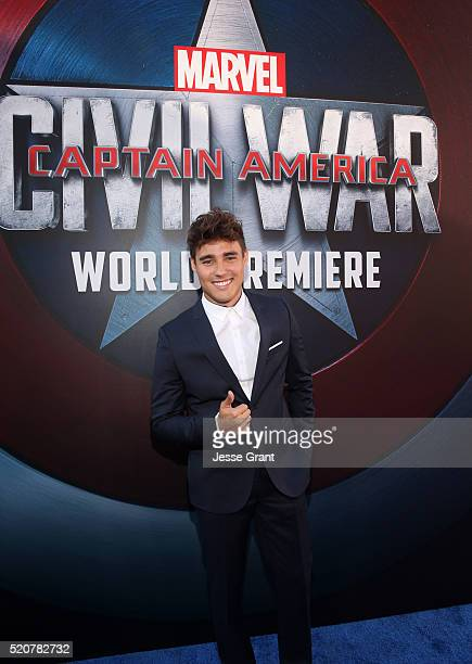 Actor Jorge Blanco attends The World Premiere of Marvel's 'Captain America Civil War' at Dolby Theatre on April 12 2016 in Los Angeles California