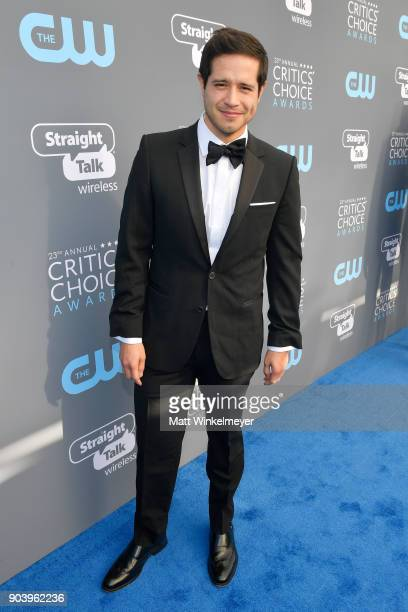 Actor Jorge Diaz attends The 23rd Annual Critics' Choice Awards at Barker Hangar on January 11 2018 in Santa Monica California