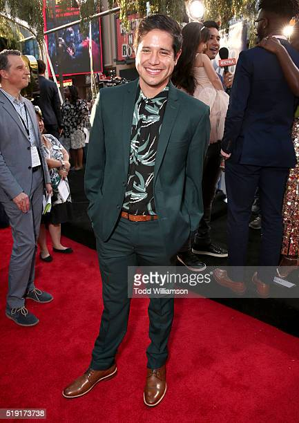 Actor Jorge Diaz attends the premiere of Disney's 'The Jungle Book' at the El Capitan Theatre on April 4 2016 in Hollywood California