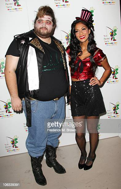 Actor Jorge Garcia and actress Nicole Scherzinger attend The Rocky Horror Picture Show 35th anniversary tribute at the Wiltern Theatre on October 28...