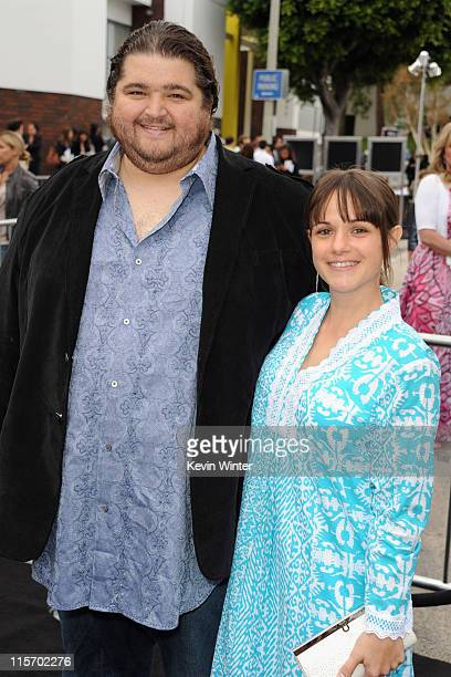 Actor Jorge Garcia and Beth Shady arrive at the premiere of Paramount Pictures' Super 8 at Regency Village Theatre on June 8 2011 in Westwood...