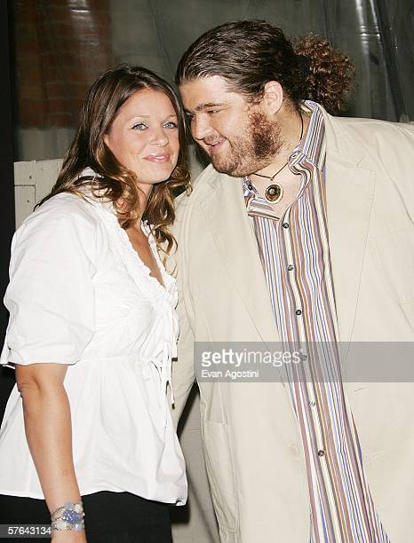 Actor Jorge Garcia and girlfriend Malia Hansen attend Maxim Magazine's 7th Annual Hot 100 party at Buddha Bar May 17 2006 in New York City