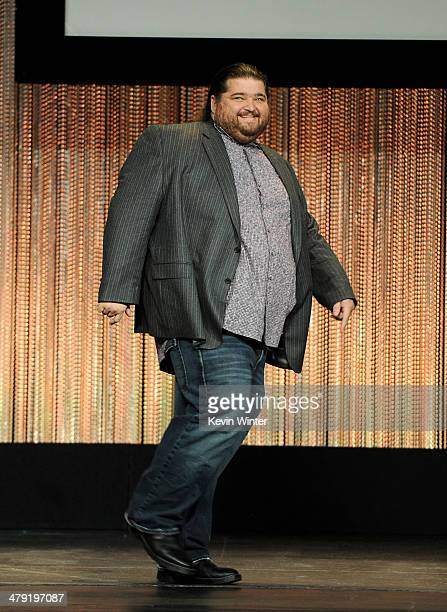 """Actor Jorge Garcia appears onstage at The Paley Center Media's PaleyFest 2014 Honoring """"Lost"""" 10th Anniversary Reunion at the Dolby Theatre on March..."""